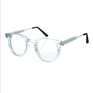 Spitfire clear round glasses. One size.